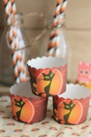 Cups para muffins Halloween
