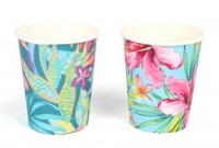 Vasos papel tropical