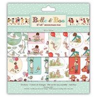 Set papel Decoupage Belle & Boo 20,3cm x 20,3cm