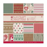 Set de papeles Craft Christmas