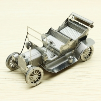 Mini Puzzle 3D metal coche antiguo