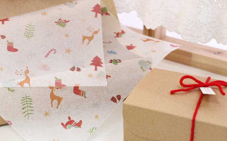 Papel encerado navidad: Tape Pink