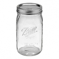 Tarro Mason Jar 950ml transparente