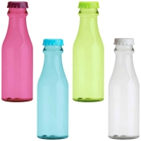 Botella color con tapa 650ml