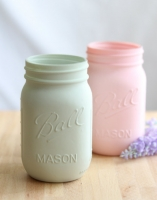Tarro Mason Jar Pint Regular 475ml color efecto pizarra