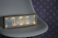 "Decoracion luminosa ""DREAM"""
