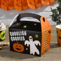 Pack 8 cajas Lunch Box Halloween
